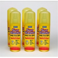 Dox SunBlaster 125 ml Pump Spray SunScreen Six Pack